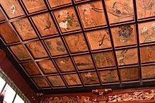 西三十三観音 天井絵 書院天井 の画像です。