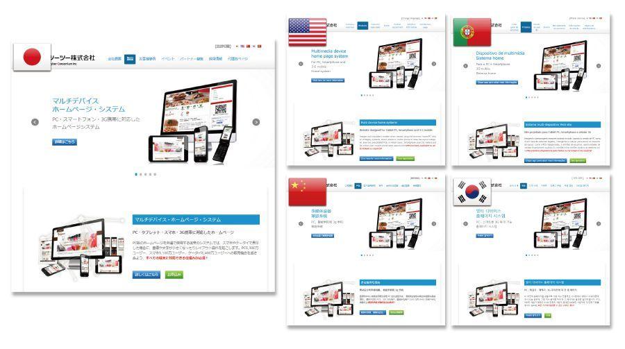 自動翻訳ページシステム