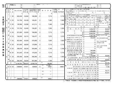 給与所得・退職所得に対する 所得税源泉徴収簿
