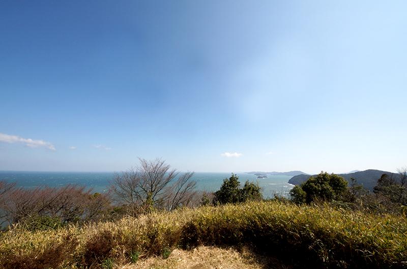 音無山展望台からの景色
