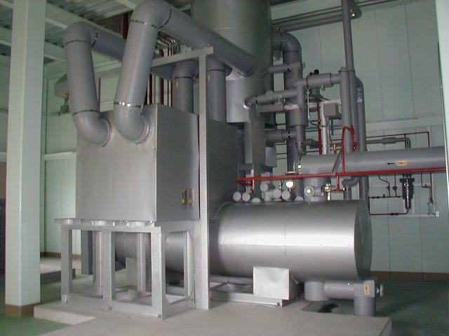 NH3-CO2二次ループシステム